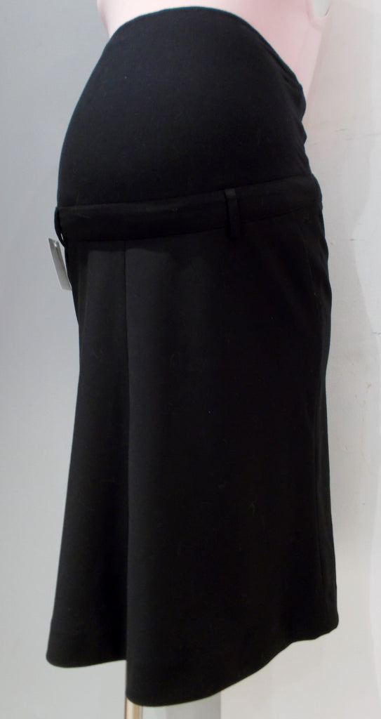 H&M Mama Maternity Black Full Panel Skirt