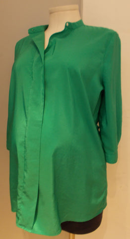 Gap Maternity green blouse