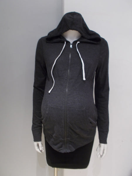 Old Navy Maternity grey zip up hoodie