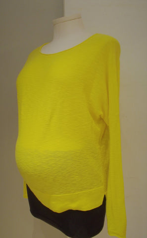 A Pea in the Pod Maternity Drop Shoulder Sweater