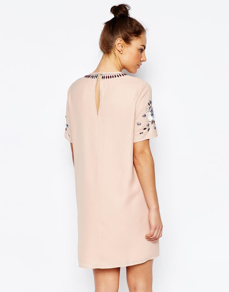 ASOS Maternity Embellished Shift Dress