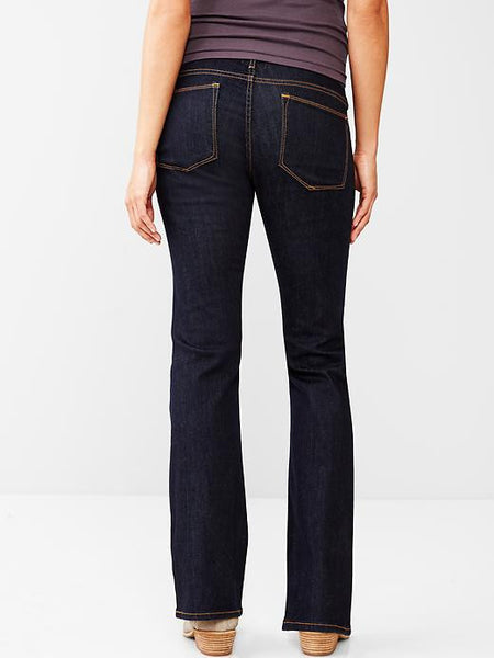Gap Maternity 1969 full panel sexy boot jeans