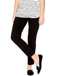 Motherhood Maternity Secret Fit Belly Skinny Zipper Ankle Maternity Pant
