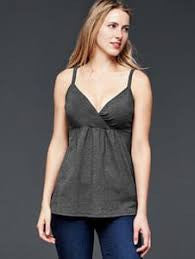 Gap Maternity grey nursing cami