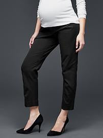 Gap Maternity Tailored Cropped Pant
