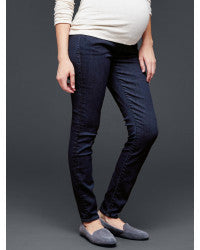 Gap Maternity 1969 demi panel resolution always skinny jeans