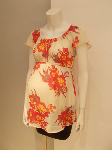 Old Navy Maternity floral print blouse