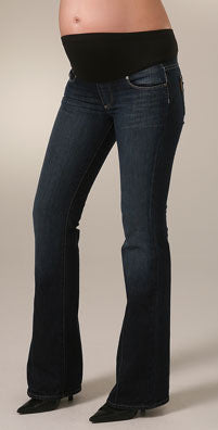 Paige Denim Laurel Canyon Maternity Low Rise Bootcut Jeans