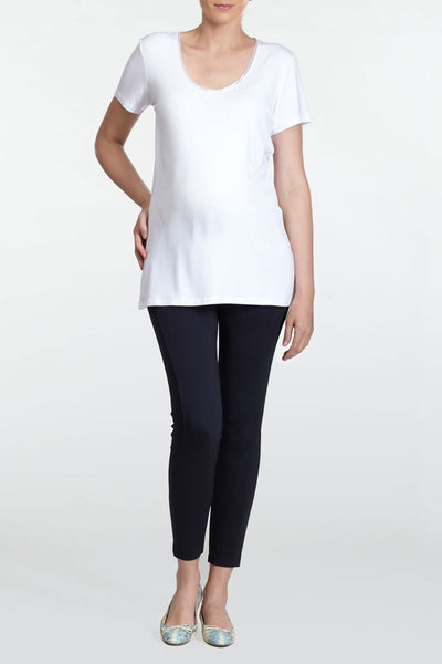 Slacks & Co - RIO maternity t-shirt white
