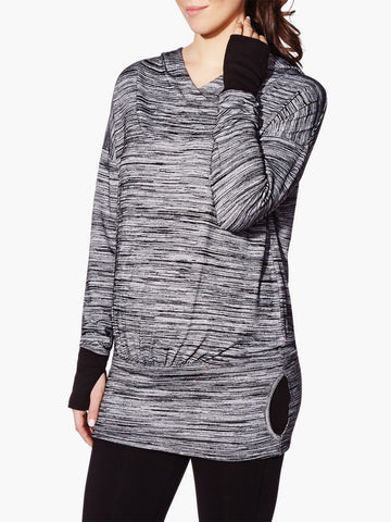 Thyme Maternity Essence Hooded Active Maternity Sweatshirt