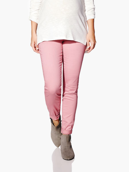 Thyme Maternity Super Skinny Coloured Pant