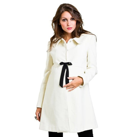 Mom2Mom Cashmere Coat Design Cream
