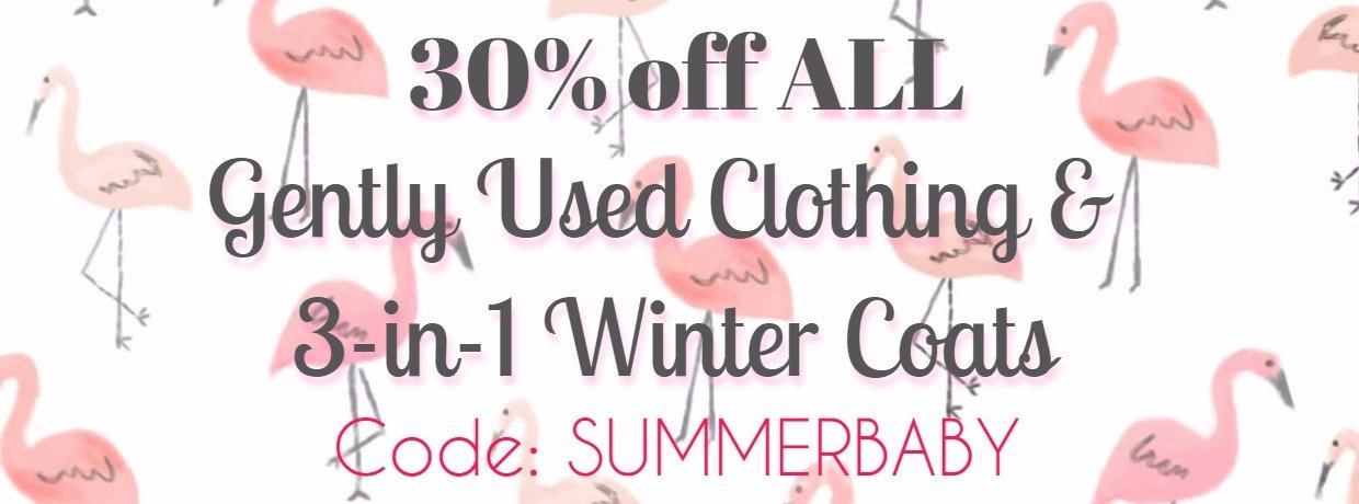 30% sale maternity clothing