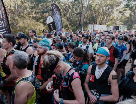 INSIDE AN ULTRA TRAIL RUN