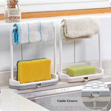 Load image into Gallery viewer, Kitchen Utensil Towel Rack Bar Hanging Holder Rail Organizer