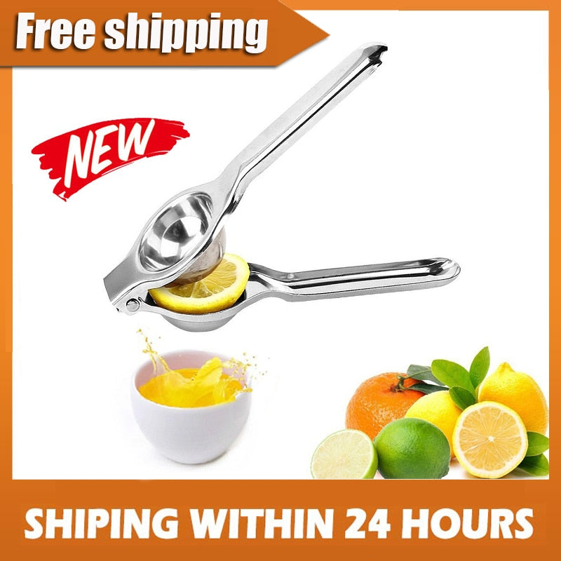 Multifunctional Mini Stainless Steel Lemon Orange Squeezer
