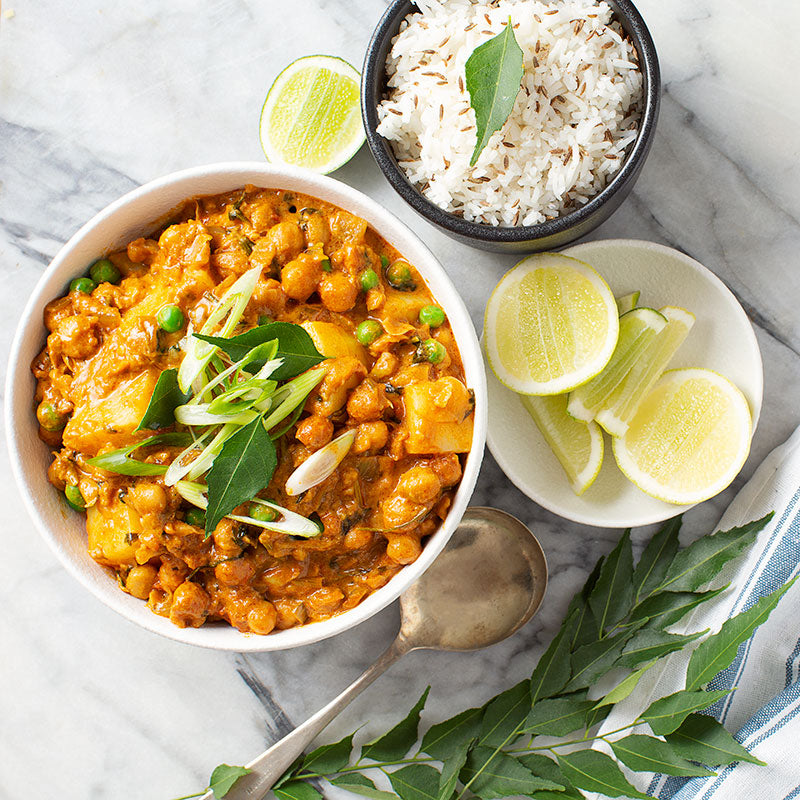 Vegan Coconut & Chickpea Curry