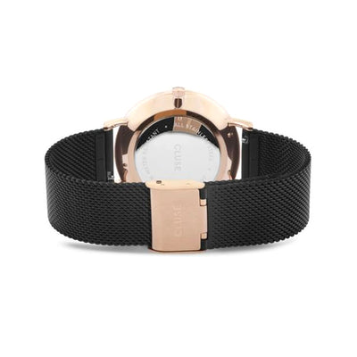 Cluse Boho Chic Mesh Black, Rose Gold Color - CW0101201010