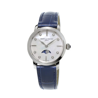Frederique Constant Slimline Ladies Moonphase - FC-206MPWD1S6