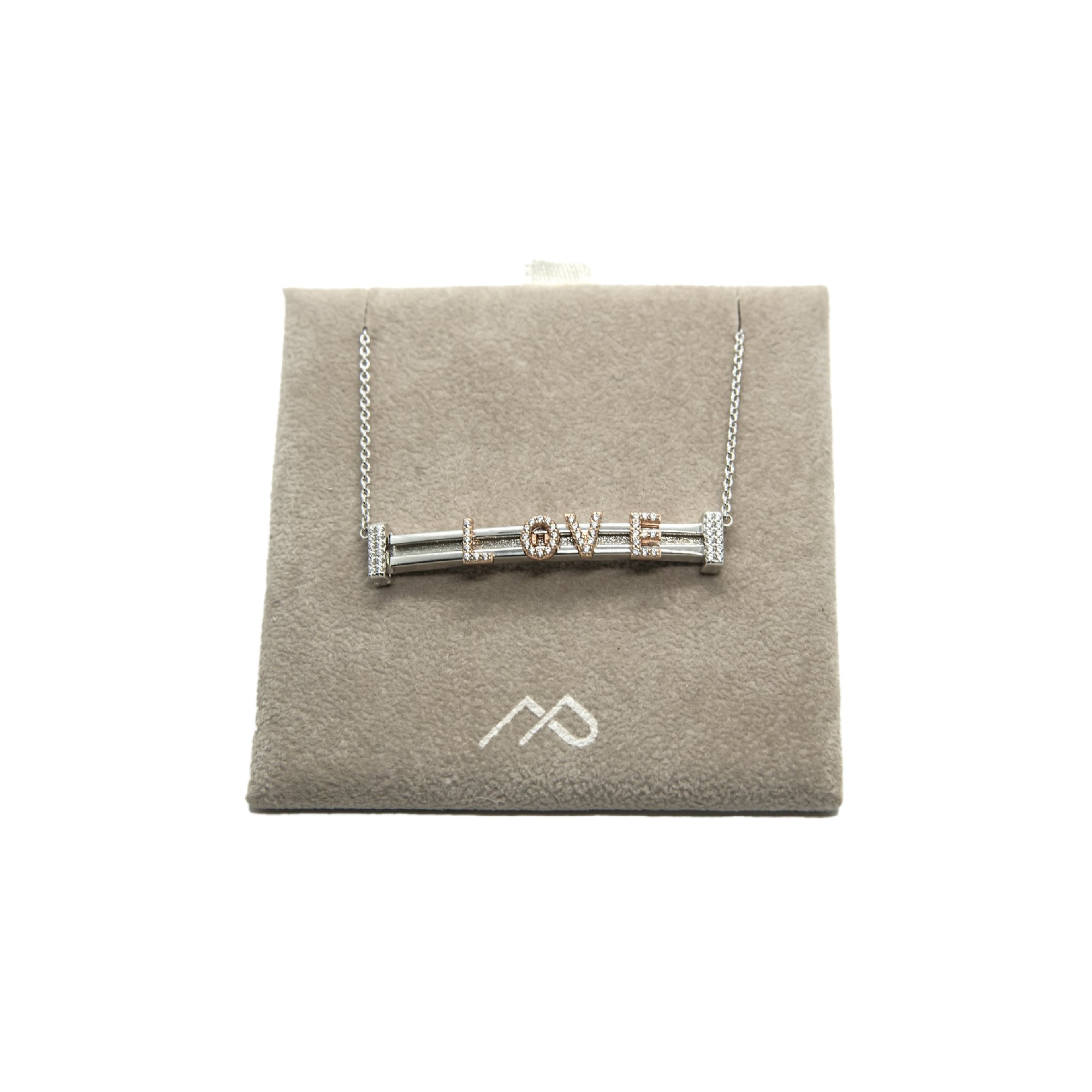Necklace - New Letters Collection - Marcello Pane