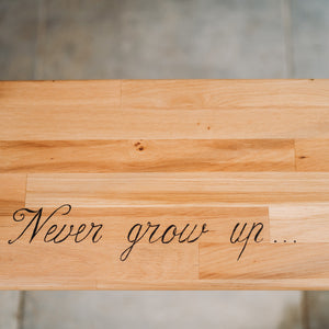 Leagan stejar Never Grow Up BBL-263