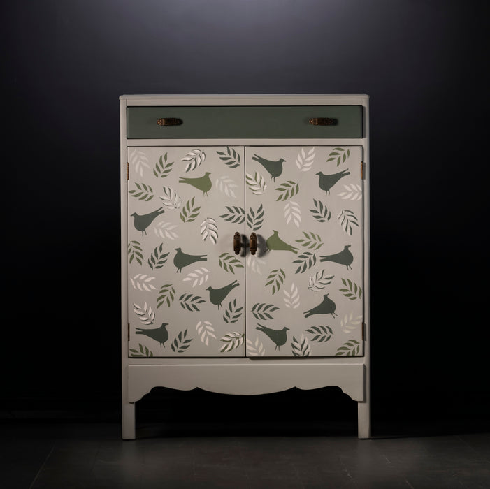 Bird and leaf Cupboard