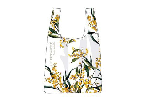 Aus Floral Emblems Wattle Rpet Shopping Bag
