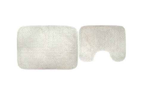 Toilet Mat Set- Ivory