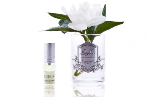 "Cã""Te Noire Perfumed Natural Touch Single Gardenias - Clear - Gmg01 - Gardenia"
