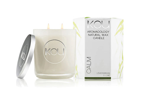 Eco-Luxury Candle Glass Calm
