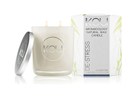 Eco-Luxury Candle Glass De-Stress