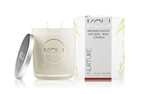 Eco-Luxury Candle Glass Nurture