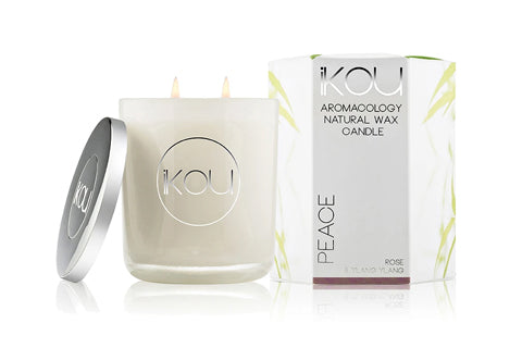 Eco-Luxury Candle Glass Peace