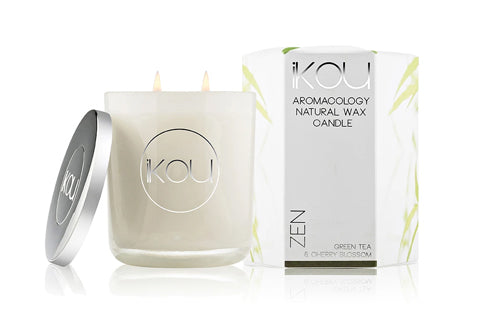 Eco-Luxury Candle Glass Zen