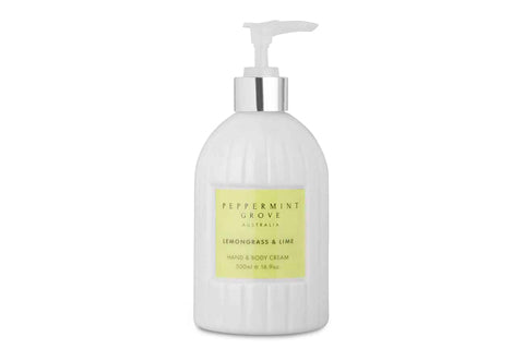 Lemongrass & Lime Hand & Body Cream 500Ml