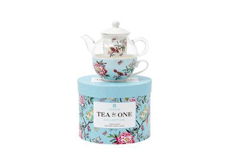 Jardin Peony Tea For One