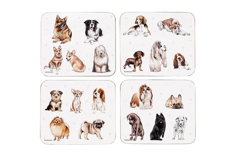 Kennel Club 4Pk Coaster