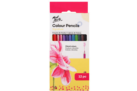 Signature Colour Pencils 12Pc