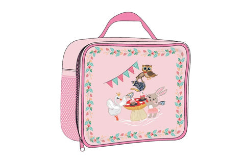 Tea Party Insulated Lunch Bag