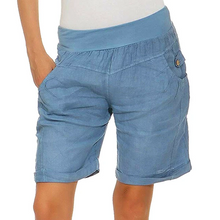 Load image into Gallery viewer, Boho Summer Loose Comfy Linen Shorts