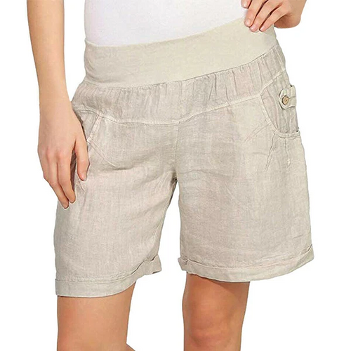 Boho Summer Loose Comfy Linen Shorts