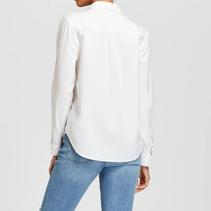 Women's Long Sleeve Button-Down Shirt