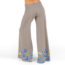 Load image into Gallery viewer, Butterfly Print Wide Leg Flowy Pants