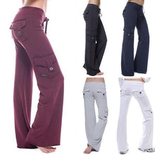 Load image into Gallery viewer, Stretchy Soft Eco-friendly Bamboo Pocket Yoga Pants