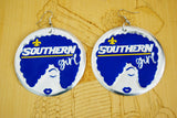 'Southern Girl' HBCU Collection Afro Statement Earrings