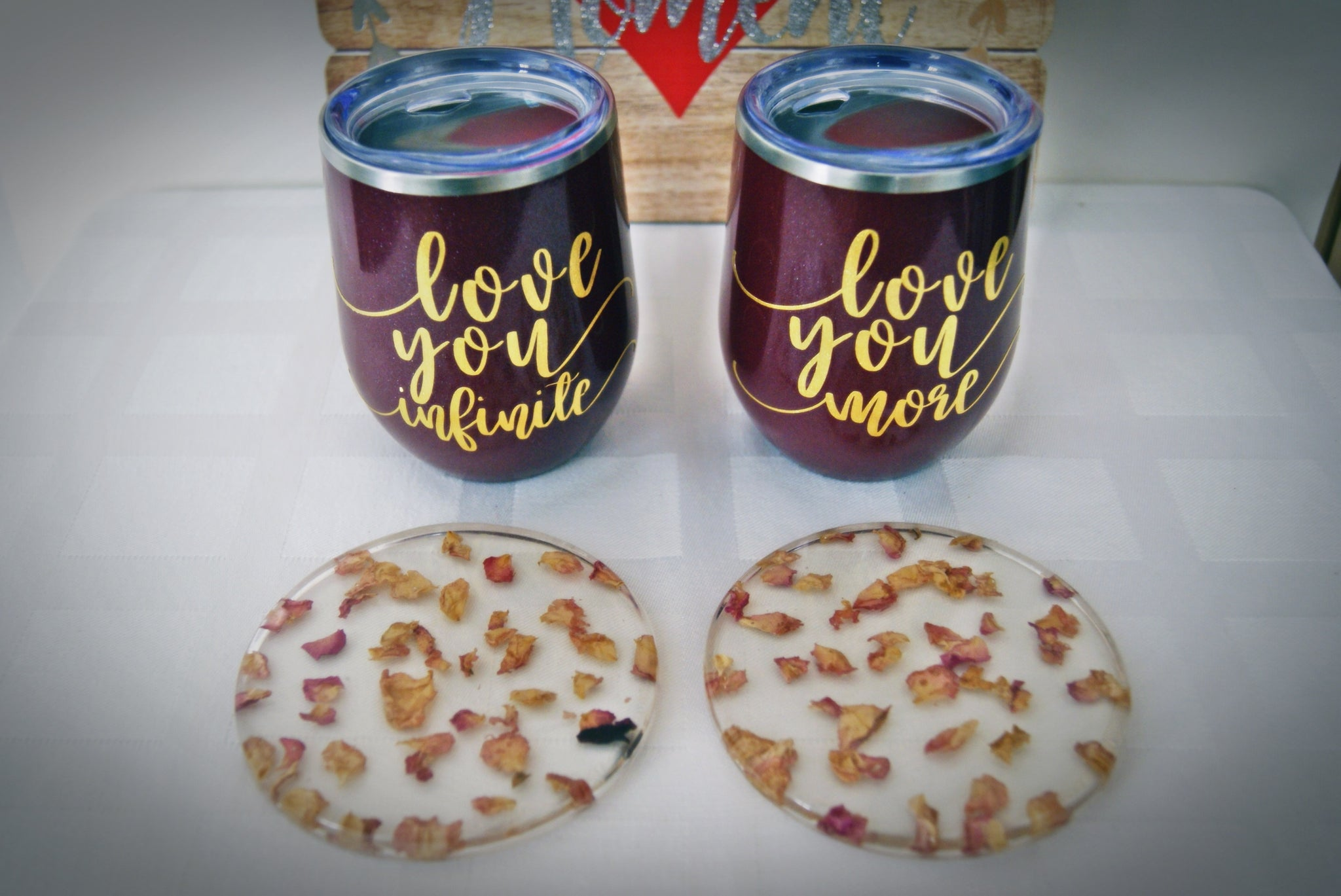 LOLA(Essentials) Wine Tumblers of Love for Two
