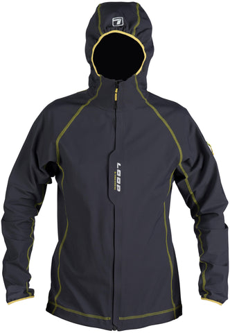 Loop Akka Softshell Performance Jacket - Carbon Grey
