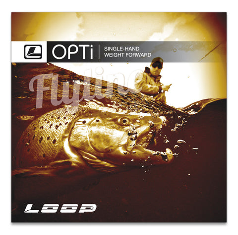 LOOP Opti Creek Floating Fly Line