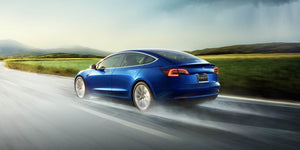 NO DRILL/SCREW Advanced Mud Guards Designed for Tesla Model 3
