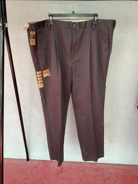 Dockers Pleated Dress Pants, NWT, Size 44X30.